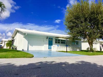 Boynton Beach Single Family Home For Sale: 1003 Siesta Avenue