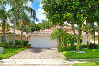 Boynton Beach Single Family Home For Sale: 7300 Lugano Drive