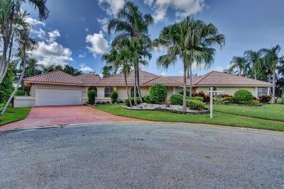 Boynton Beach Single Family Home For Sale: 4307 Fox Trace