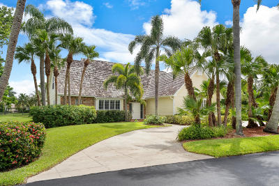 Tequesta Single Family Home For Sale: 18360 SE Lakeside Drive