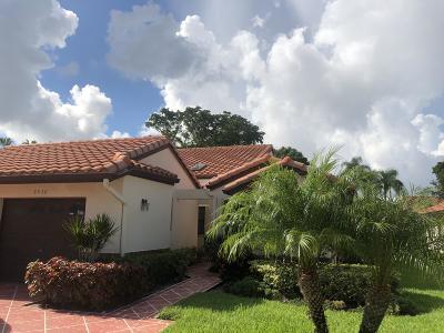 Delray Beach Single Family Home For Sale: 6530 Royal Manor Circle #B