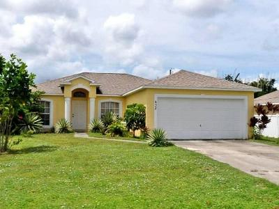 Port Saint Lucie Single Family Home For Sale: 632 SW Granadeer Street