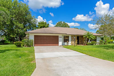 Fort Pierce Single Family Home For Sale: 5413 Eagle Drive