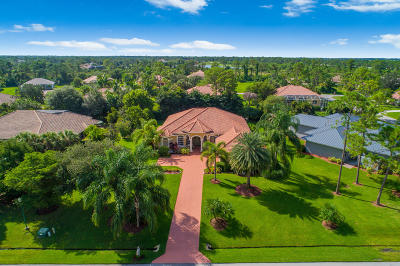Palm City Single Family Home Contingent: 10400 SW Stones Throw Terrace