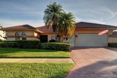 Boca Raton Single Family Home For Sale: 10099 Canoe Brook Circle