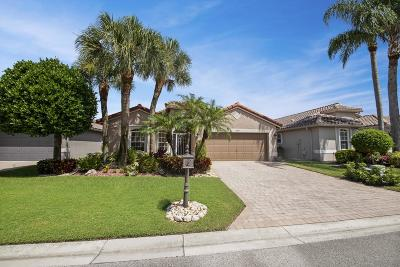 Boynton Beach Single Family Home Contingent: 11544 Pallas Drive