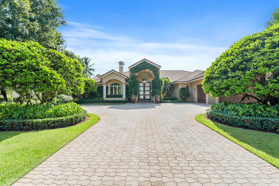 Palm Beach County Single Family Home For Sale: 3480 Ambassador Road