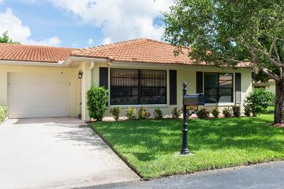 Boynton Beach Single Family Home For Sale: 4475 Ficus Tree Road #B