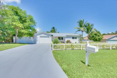 Boynton Beach Single Family Home For Sale: 147 SW 25th Avenue