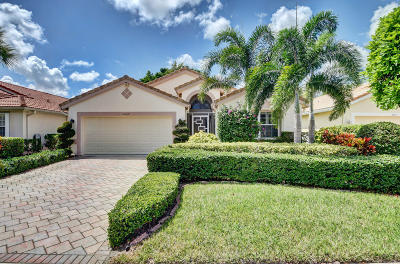 Boca Raton Single Family Home Contingent: 22819 Royal Crown Terrace