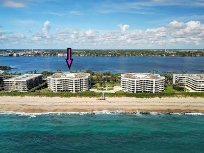 Palm Beach Condo For Sale: 3360 S Ocean Boulevard #3-G Il