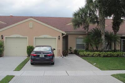 Boynton Beach Single Family Home For Sale: 8631 Logia Circle