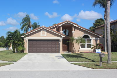 Boynton Beach Single Family Home For Sale: 8657 Tourmaline Boulevard