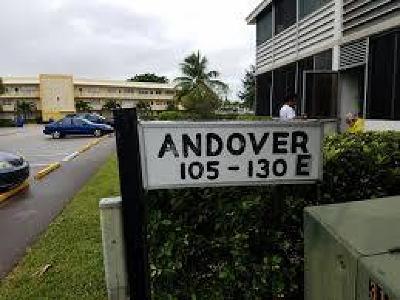 West Palm Beach Condo For Sale: 120 Andover E E #120