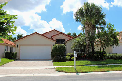 Boynton Beach Single Family Home For Sale: 11844 Haddon Park Parkway