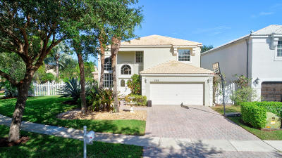 Lake Worth Single Family Home For Sale: 7783 Great Oak Drive