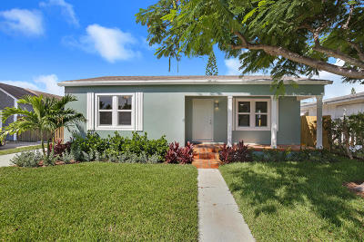 Lake Worth Single Family Home For Sale: 1427 Street