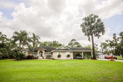 Loxahatchee Single Family Home For Sale: 18098 49th Street