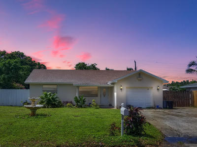 Lake Worth Single Family Home For Sale: 6859 Westview Drive