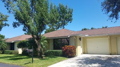 Boynton Beach Single Family Home For Sale: 9970 Ligustrum Tree Way #A