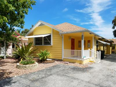 Lake Worth Single Family Home For Sale: 814 S Federal Highway