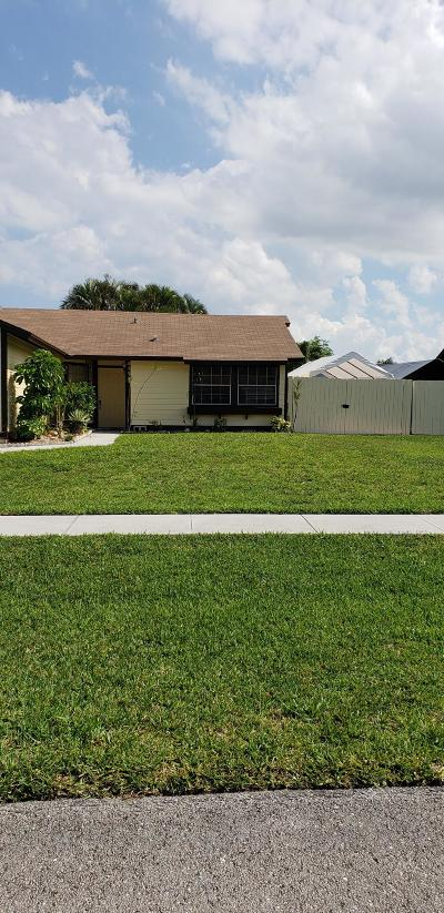 West Palm Beach Single Family Home For Sale: 5173 El Claro Circle