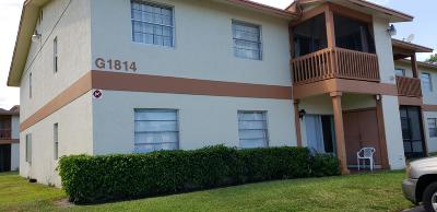 West Palm Beach Condo For Sale: 1814 Abbey Road #202 G