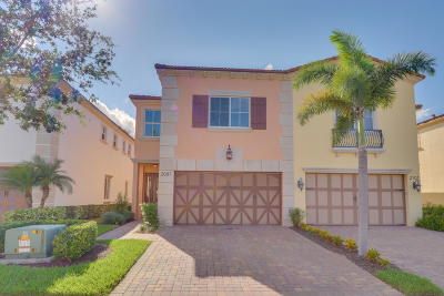 West Palm Beach Townhouse For Sale: 2097 Foxtail View Court