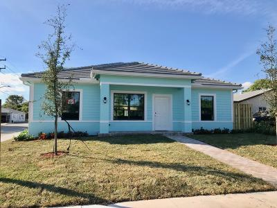 Lake Worth Single Family Home For Sale: 403 F Street