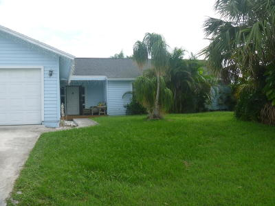 Port Saint Lucie Single Family Home Contingent: 114 SW Glenwood Drive