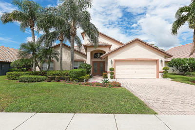 Boynton Beach Single Family Home For Sale: 6013 Golf Villas Drive
