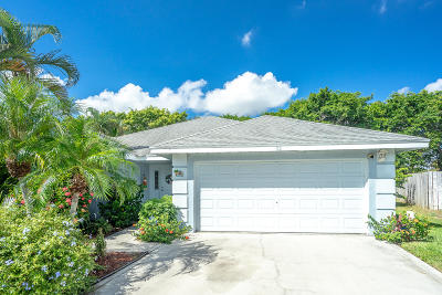 Boynton Beach Single Family Home For Sale: 32 Heather Cove Drive