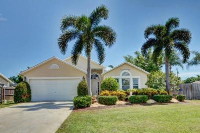 Port Saint Lucie Single Family Home For Sale: 475 SW Friar Street