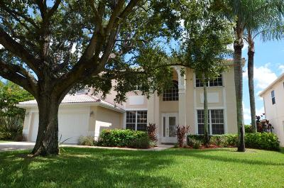 Lake Worth Single Family Home For Sale: 7528 Cedar Hurst Court