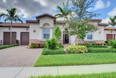 Delray Beach Single Family Home Contingent: 14884 Barletta Way