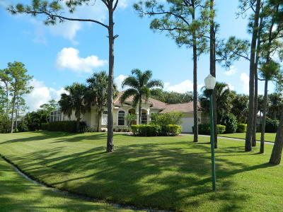 Palm City Single Family Home For Sale: 10447 SW Fiddlers Way
