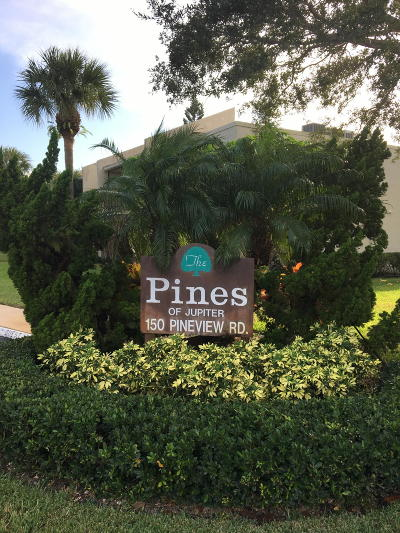 Jupiter Condo For Sale: 150 Pineview Road #B1
