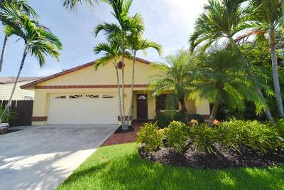 Lake Worth Single Family Home For Sale: 718 Palmway