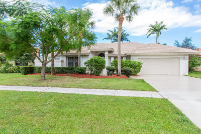 Boca Raton Single Family Home For Sale: 9537 Carousel Circle