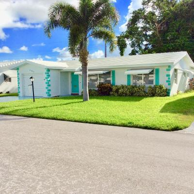 Boynton Beach Single Family Home For Sale: 132 NW 10th Court
