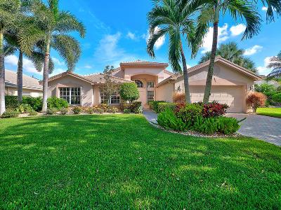 Boynton Beach Single Family Home For Sale: 7426 Lahana Circle