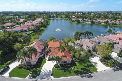 Palm Beach Gardens Single Family Home For Sale: 202 Eagleton Lake Boulevard