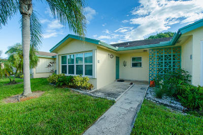 Delray Beach Single Family Home For Sale: 14290 Nesting Way #C