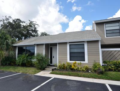 Jupiter Townhouse For Sale: 707 Stonewood Court #19a