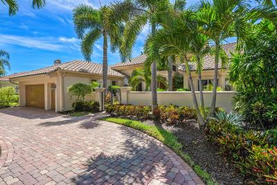 Jupiter Single Family Home For Sale: 209 Island Drive