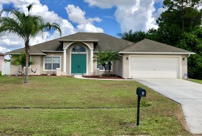 Port Saint Lucie Single Family Home For Sale: 374 SW Dalton Circle