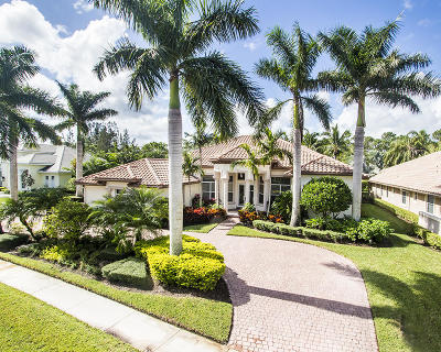West Palm Beach Single Family Home For Sale: 6083 Wildcat Run