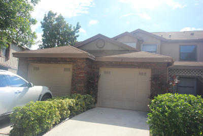 Greenacres Townhouse For Sale: 400 Crosswinds Drive #A1