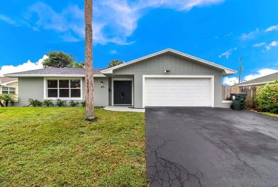 Lake Worth Single Family Home For Sale: 1819 16th Avenue