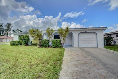 Boca Raton Single Family Home For Sale: 22547 Lanyard Street